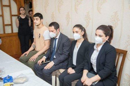 Mehriban Əliyeva Tovuzda şəhid olan 12 hərbçi ilə bağlı Heydər Əliyev Fonduna tapşırıq verdi - FOTO