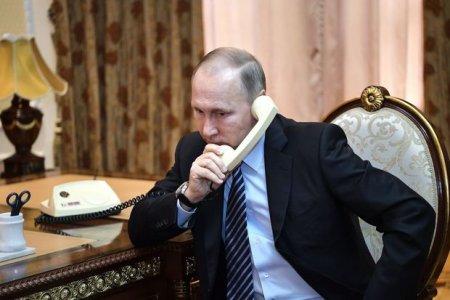 Putin və Makron Dağlıq Qarabağla bağlı vəziyyəti müzakirə etdi