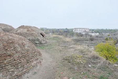 """""""Ruhlar şəhəri"""" Ağdamdan - FOTOLAR"""