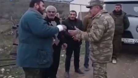 Azərbaycan zabitinin humanistliyi - ŞƏRH