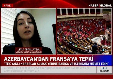 Azərbaycan Fransa səfirinə nota verdi - VİDEO