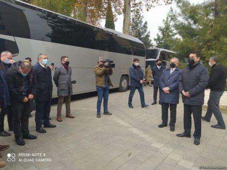Prezidentin köməkçisi xarici diplomatlarla Tərtərdədir - FOTO+YENİLƏNİB