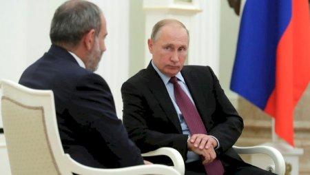 Paşinyan Putinə buna görə iki dəfə zəng edib - Detallar