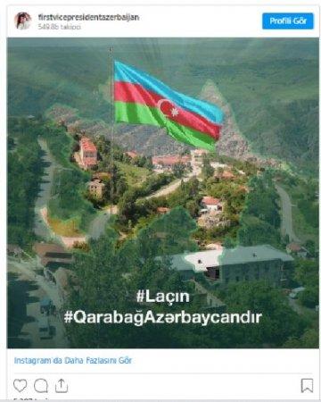 Mehriban Əliyeva Azərbaycan xalqını təbrik etdi - FOTO