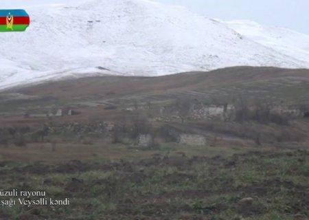 Füzulinin Aşağı Veysəlli kəndi -VİDEO
