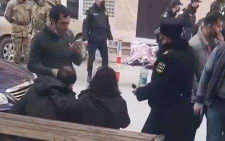 Bakıda daha bir şəxs özünü hündürmərtəbəli binadan atdı - Video
