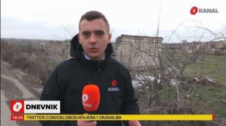 """""""Şəhərdə gördüyümüz tək şey xarabalıqlar idi"""": Bosniya """"O Kanal"""" kanalının Ağdamdan reportajı - VİDEO"""