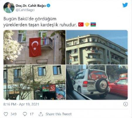 Türkiyənin yeni səfiri Bakıya gəldi - PAYLAŞIM / FOTOLAR