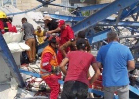 İsraildə sinaqoqun tribunası çökdü:60 yaralı