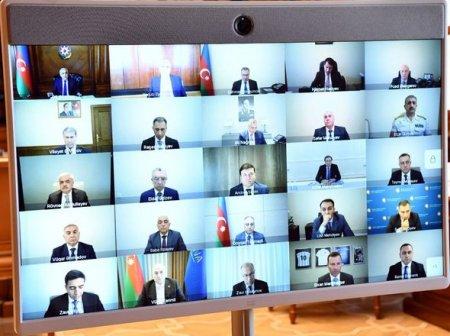 Nazirlər Kabinetində AVRO-2020-yə hazırlıq işləri müzakirə olunub – FOTO