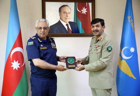 Azərbaycan ilə Pakistan hərbi aviasiya sahəsində əməkdaşlığı genişləndirəcək - FOTO