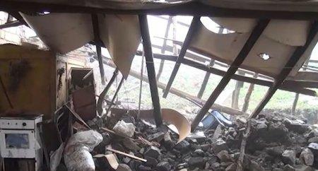 Sel Goranboyun Moruqlu kəndinə ciddi ziyan vurub - VİDEO