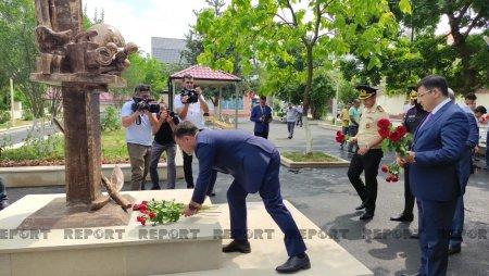 """Qubada """"Media şəhidləri"""" parkı istifadəyə verildi — FOTOLAR"""
