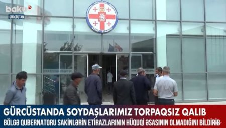 Gürcüstanda soydaşlarımız torpaqsız qalıb – VİDEO