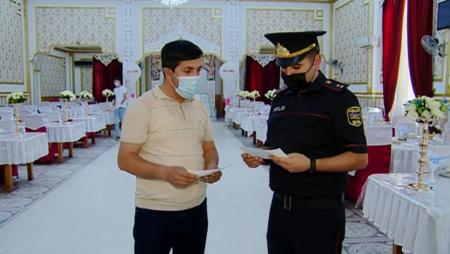 """5263 nəfər """"COVID-19"""" pasportu olmadığına görə şənliyə buraxılmayıb"""