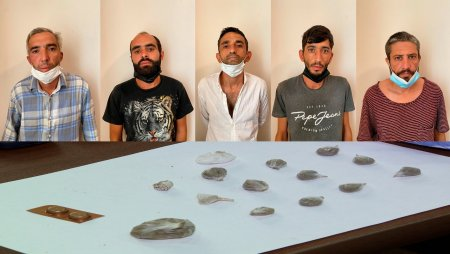 Abşeron rayonunda narkotik vasitələrin  satışı ilə məşğul olan 5 nəfər saxlanılıb