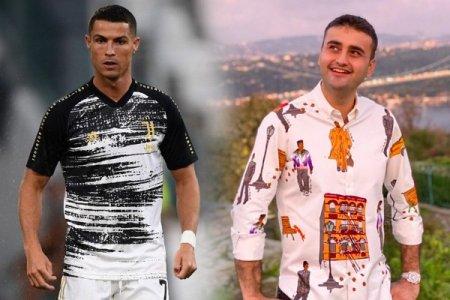 Ronaldodan CZN Buraka ortaqlıq təklifi - FOTO