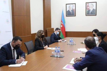 Bahar Muradova Dünya Bankının Azərbaycan üzrə ölkə meneceri ilə görüşüb