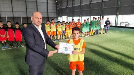 Masallıda mini-futbol üzrə rayon birinciliyi qalibləri mükafatlandırılıb