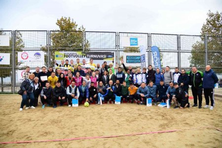 Kadıköy, Uluslararası Footvolley Turnuvası'na ev sahipliği yaptı