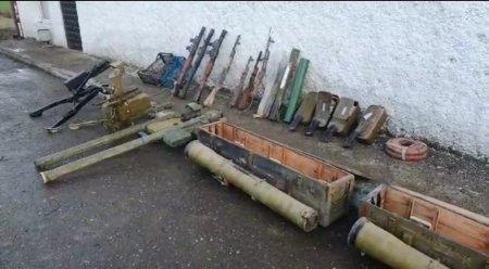 Xocavənddə polis əməkdaşları silah-sursat aşkar edib