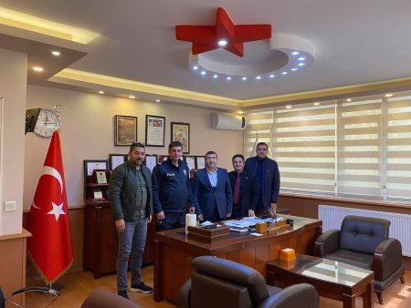 Çekmeköy İlçe Emniyet Müdürü ASİAD'a ziyaretde bulundu - Özəl