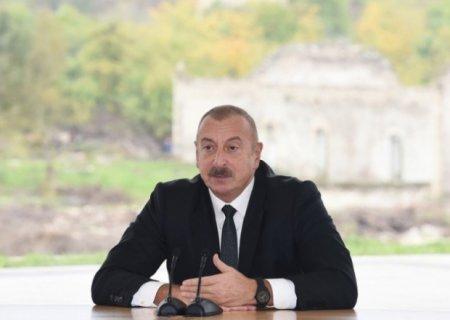 """""""İstədiyimizə nail oluruq"""" - Dövlət başçısı Zəngəzur dəhlizindən danışdı"""