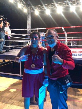 2021 yılının ilk altın madalyası Busenaz Sürmeneli 'den. Tebrikler Şampiyon! Sırbistan - Reportaj