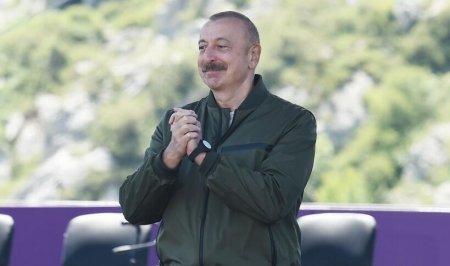 Prezident İlham Əliyevi Şuşada kövrəldən sözlər...