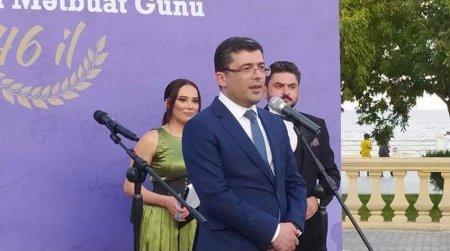 """MEDİA-nın təşkilatçılığı ilə """"Milli Mətbuat Günü"""" qeyd edildi - Fotolar"""