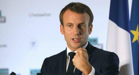 Fransa prezidenti Emmanuel Makron erməni dostlarını bir daha sevindirdi