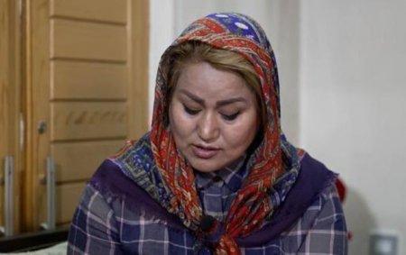 """""""Taliban""""ın axtardığı qadın danışıb - Video"""