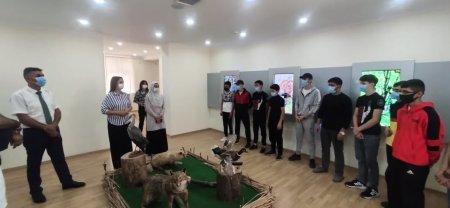 Masallıda gənclərin Tarix-Diyarşünaslıq muzeyinə ekskursiyası təşkil edilib